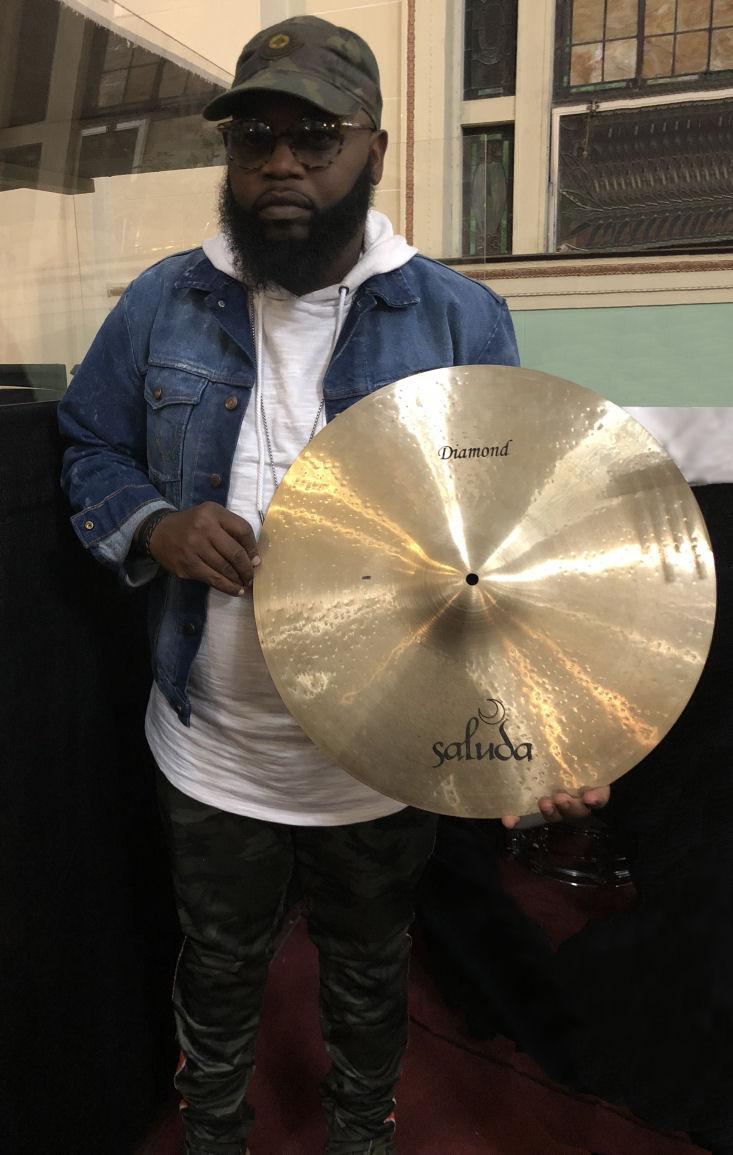 Jamel Dailey Saluda Cymbals