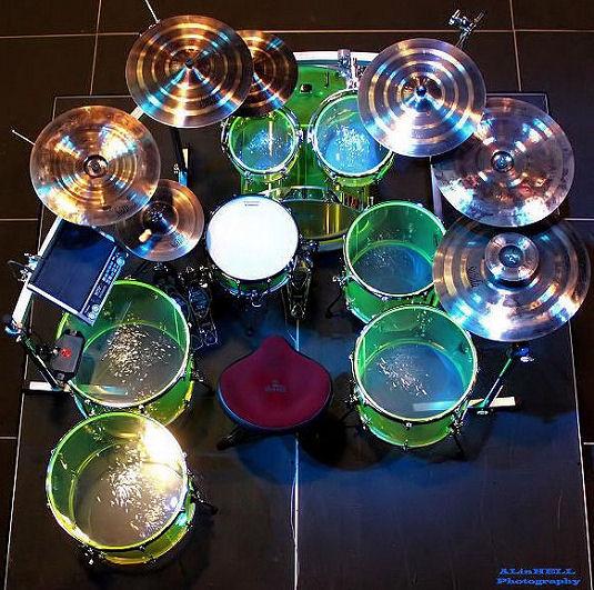Stixx's Drum Set