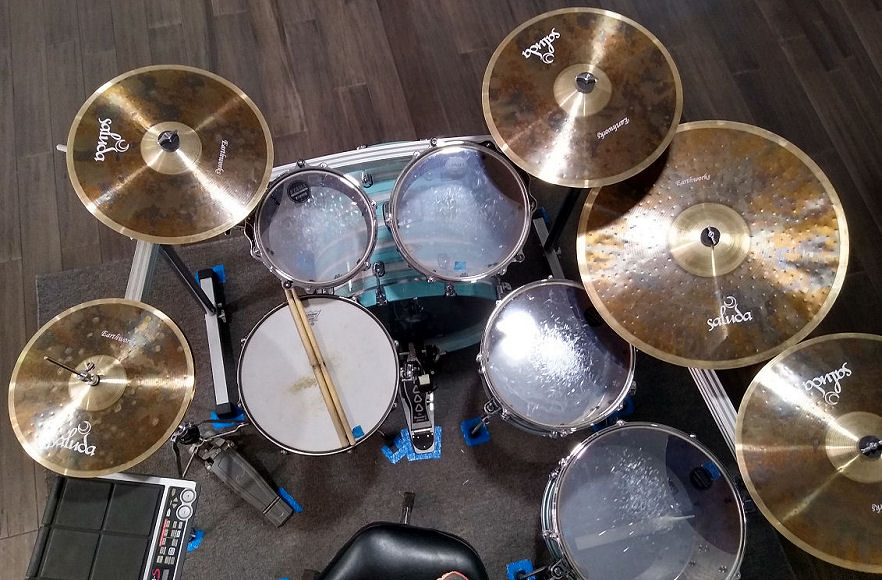 Saluda Earthworks Cymbals